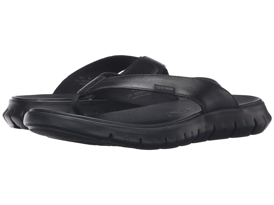 Cole Haan - Zerogrand Sandal (Black/Black) Women's Sandals