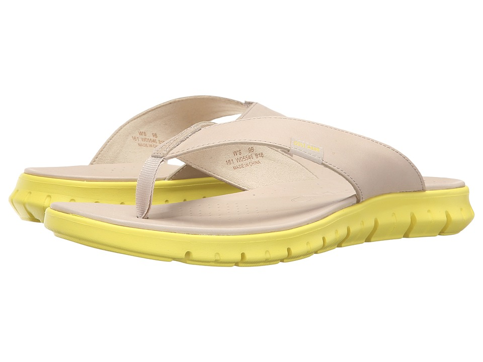 Cole Haan - Zerogrand Sandal (Oatmeal/Sunray) Women's Sandals