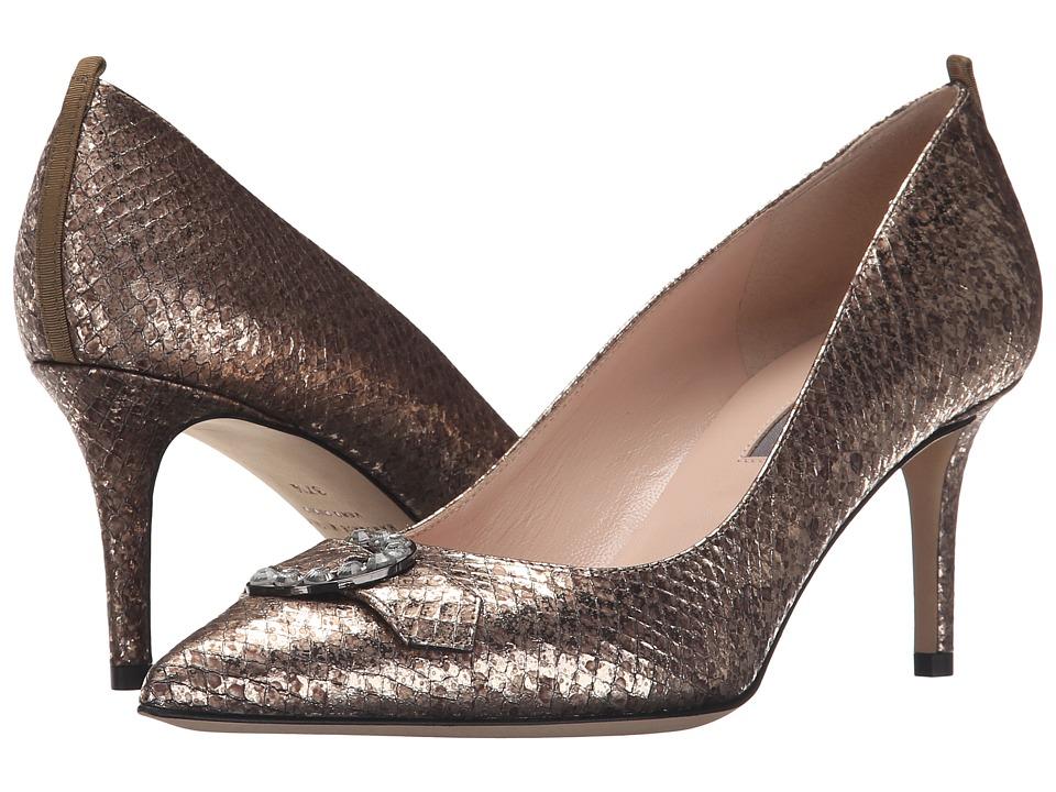SJP by Sarah Jessica Parker - Oblige (Platine Beige Snake) Women's Shoes