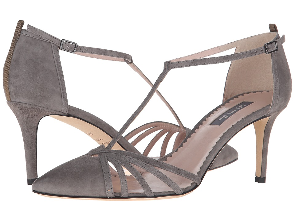 SJP by Sarah Jessica Parker - Carrie 70 (Adara Grey Suede) Women's Shoes