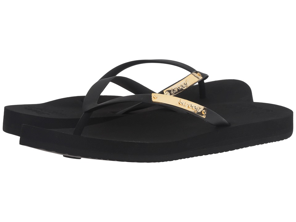 Reef - Cushion Glam (Black) Women's Sandals