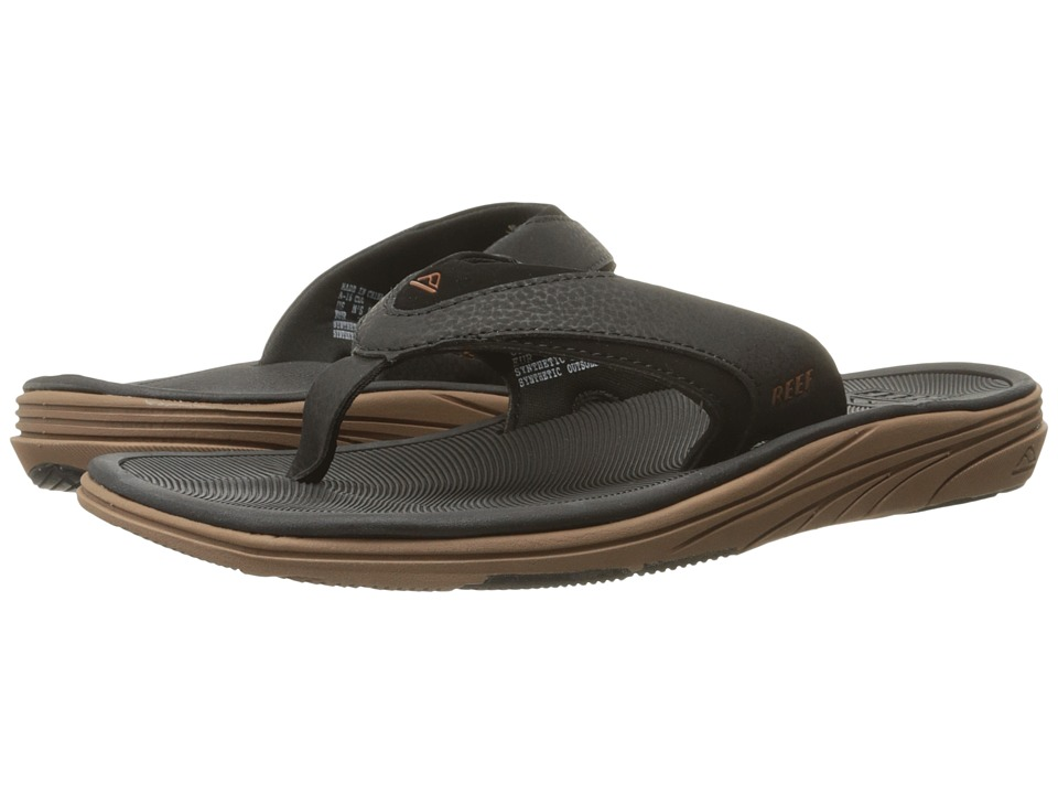 Reef - Modern (Black/Brown) Men's Sandals
