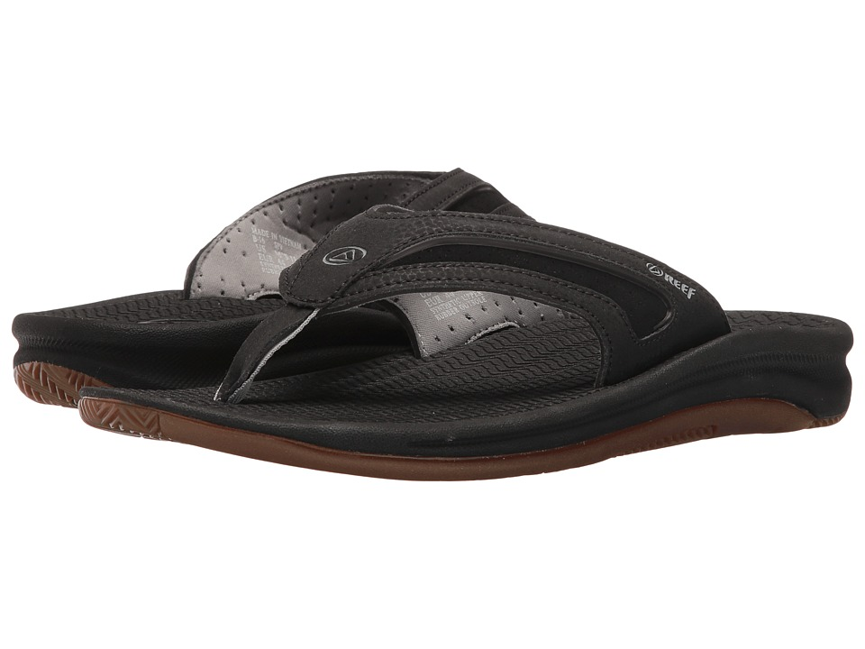Reef - Flex (Black/Silver) Men's Sandals