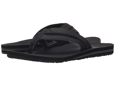 Reef Sandals Mens Reef Marbea Sl Flat Black 3702513