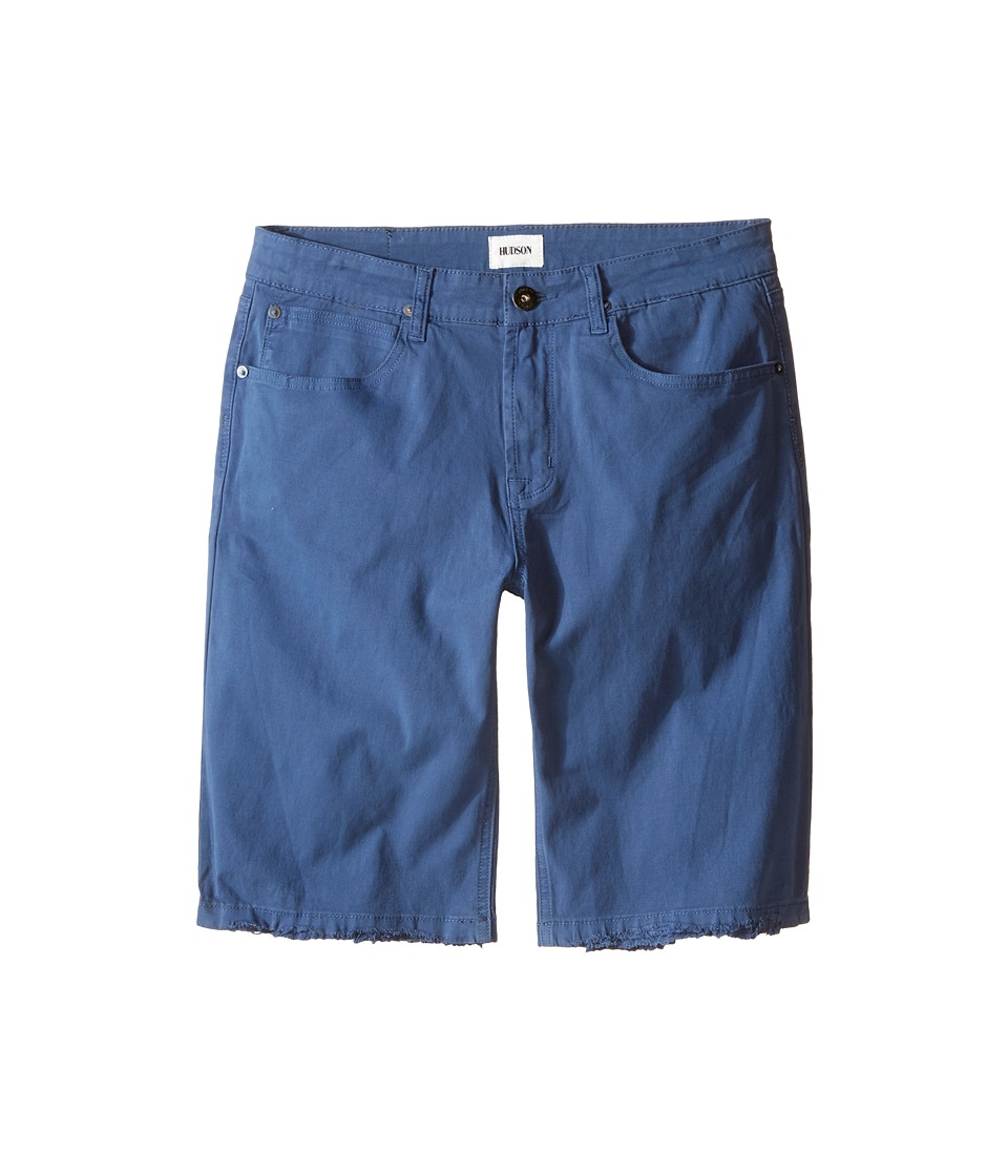 Hudson Kids - Stretch Twill Five-Pocket Shorts in Treasure Indigo (Big Kids) (Treasure Indigo) Boy's Shorts