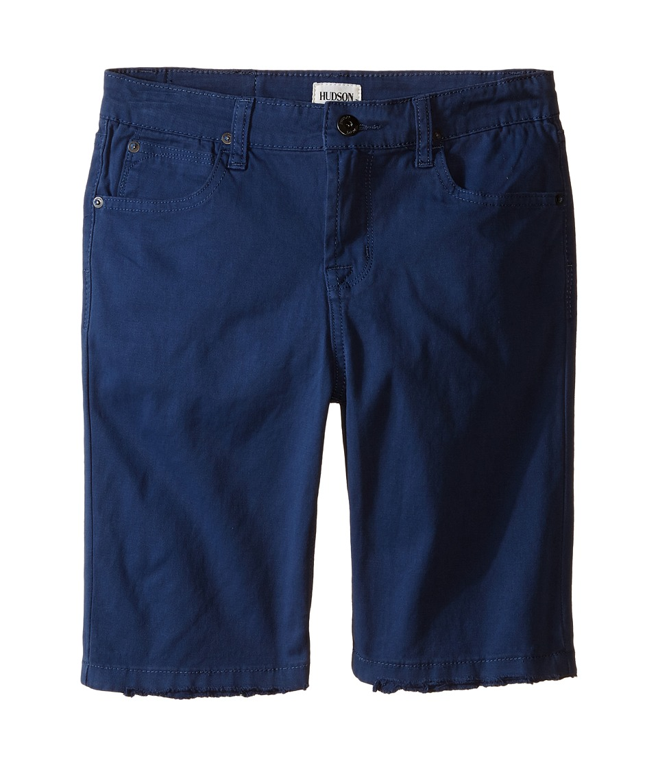 Hudson Kids - Stretch Twill Five-Pocket Shorts in Treasure Indigo (Little Kids) (Treasure Indigo) Boy's Shorts