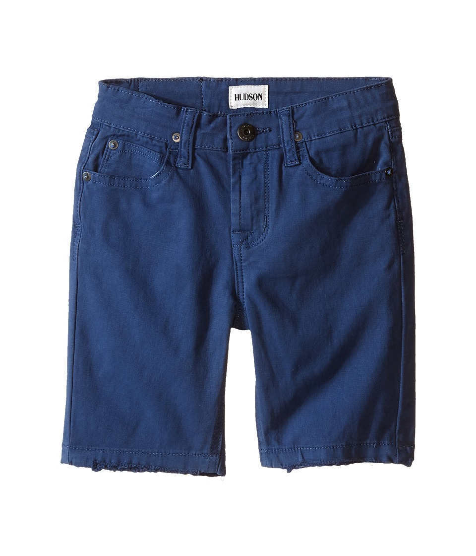 Hudson Kids - Stretch Twill Five-Pocket Shorts in Treasure Indigo (Toddler) (Treasure Indigo) Boy's Shorts