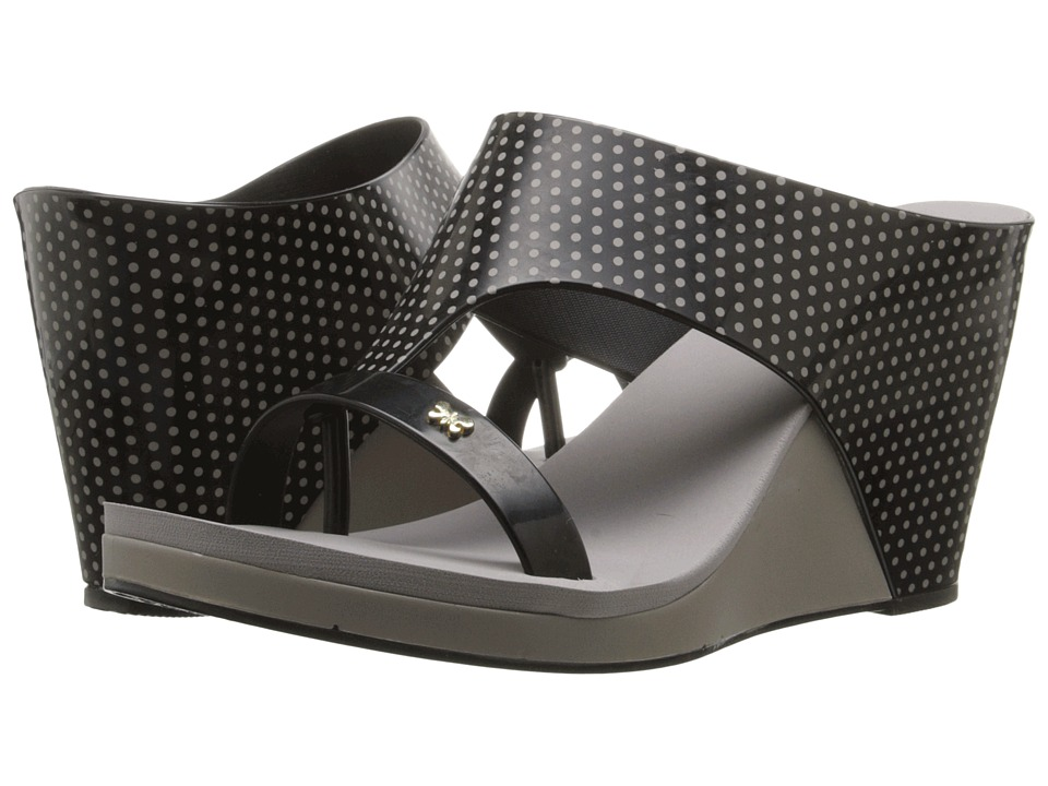 ZAXY - Glamour Top (Black) Women's Wedge Shoes