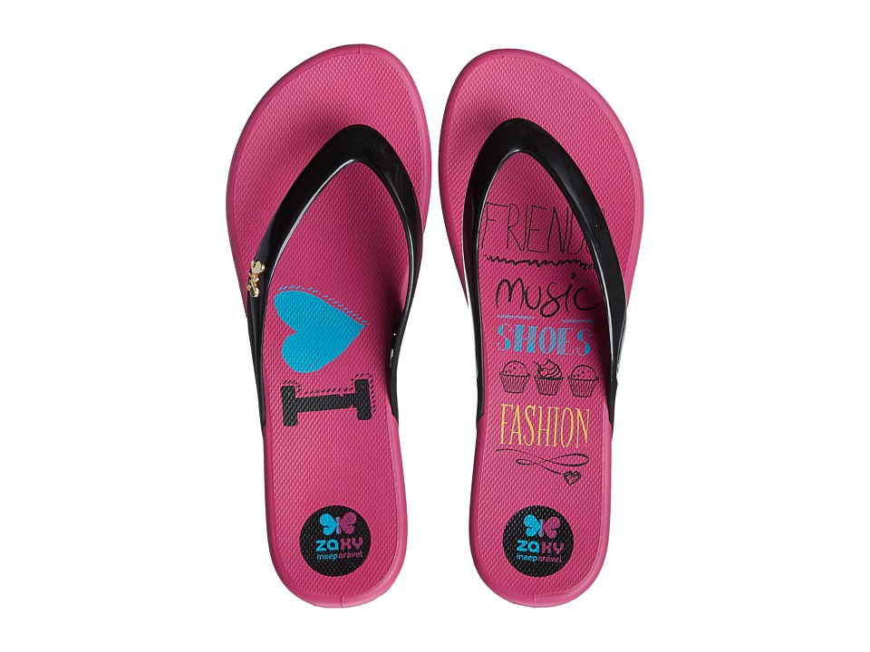 ZAXY - Intense (Black/Pink) Women's Sandals