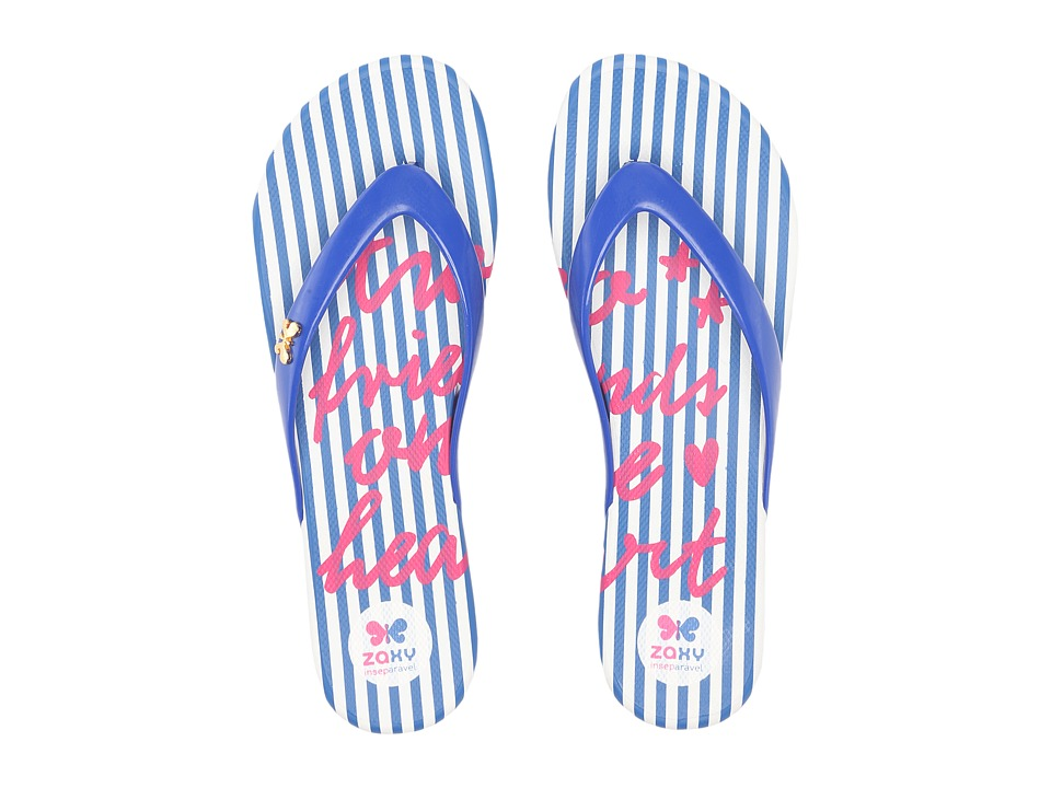 ZAXY - Intense (Blue/White) Women's Sandals
