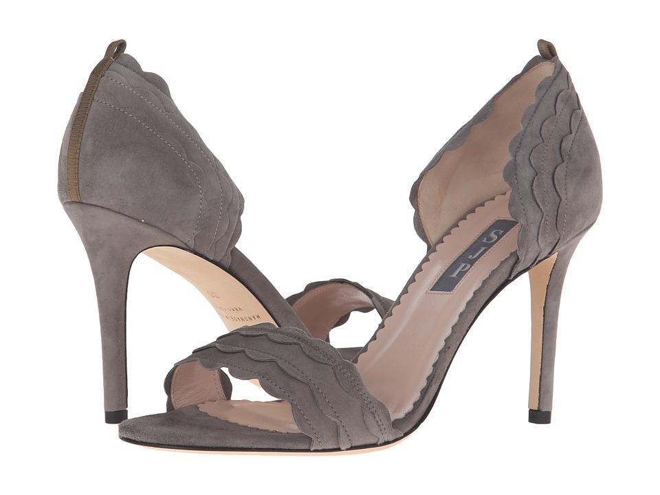 SJP by Sarah Jessica Parker - Bobbie (Adara Grey Suede) Women's Shoes