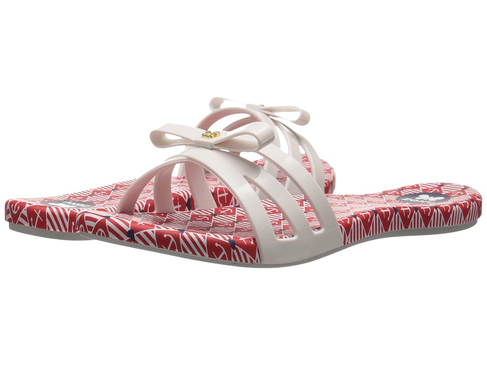 ZAXY - Like (White/Red) Women's Sandals