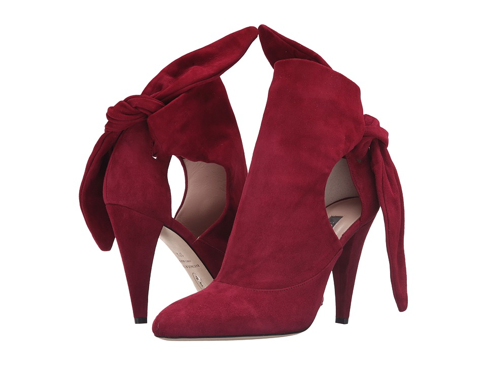 SJP by Sarah Jessica Parker - Baton (Broadside Bordeaux Suede) Women's Shoes