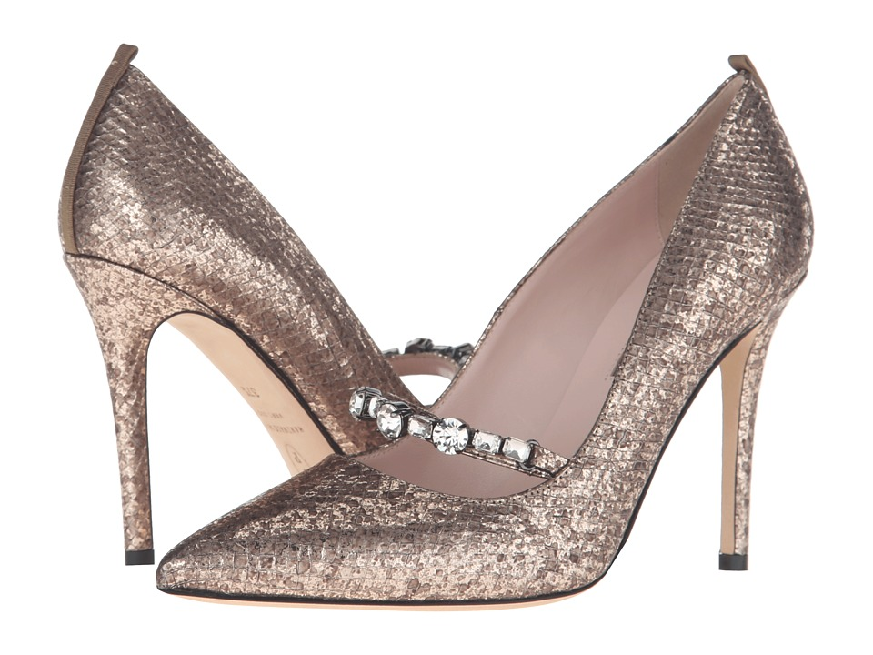 SJP by Sarah Jessica Parker - Attire (Platine Beige Snake) Women's Shoes