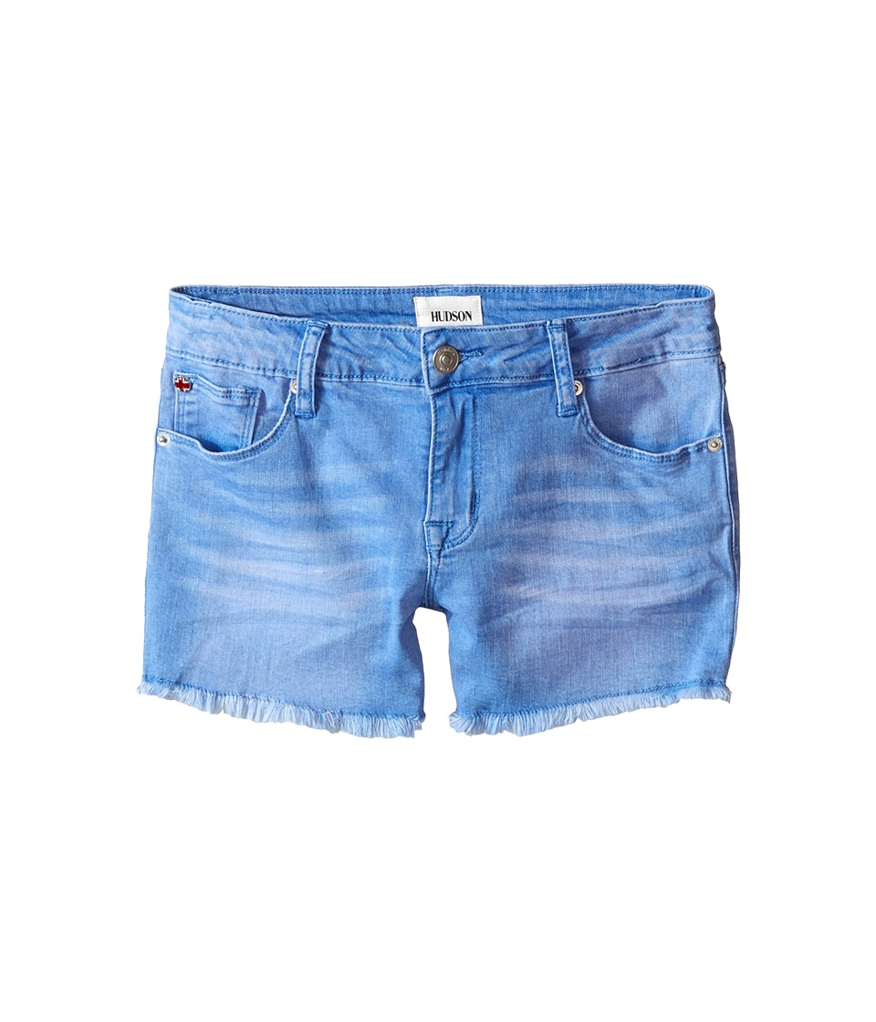 Hudson Kids - 3 Fray Five-Pocket Shorts in Ultramarine (Big Kids) (Ultramarine) Girl's Shorts