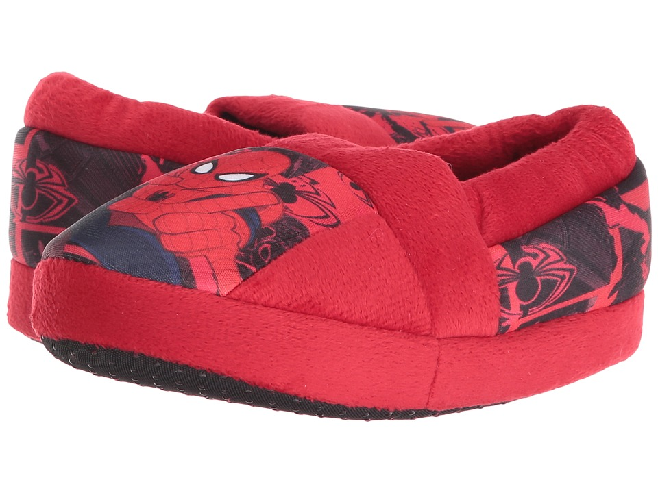Favorite Characters - Ultimate Spiderman Slipper SPF235 (Toddler/Little Kid) (Red) Boys Shoes