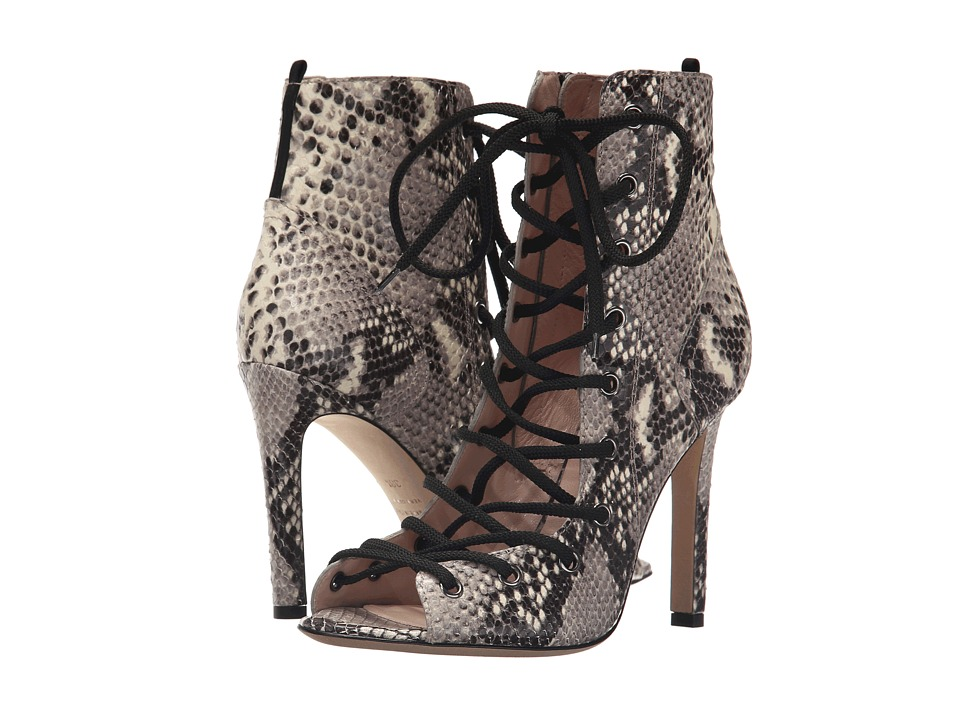 SJP by Sarah Jessica Parker - Alison (Tintype Gray Printed Snake) Women's Shoes