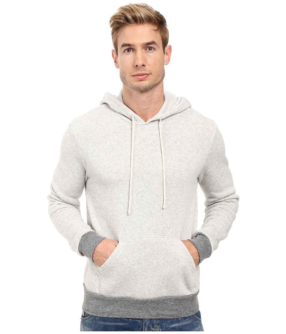 Alternative - Hoodlum Pullover Hoodie (Eco Oatmeal/Eco Grey) Men's Long Sleeve Pullover