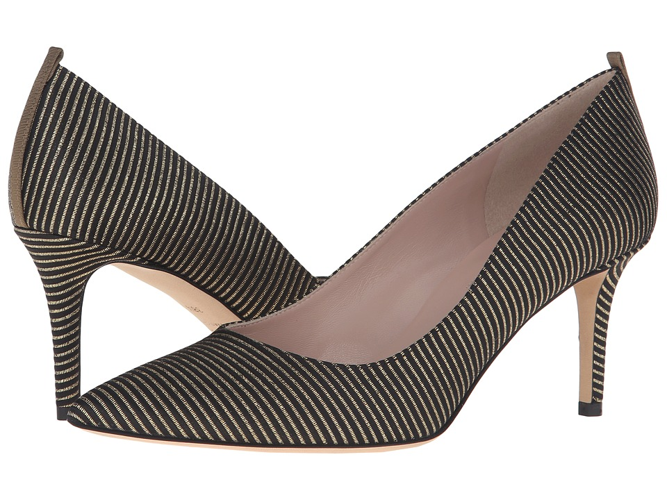 SJP by Sarah Jessica Parker - Fawn 70mm (Magnate Metallic Stripe) Women's Slip-on Dress Shoes