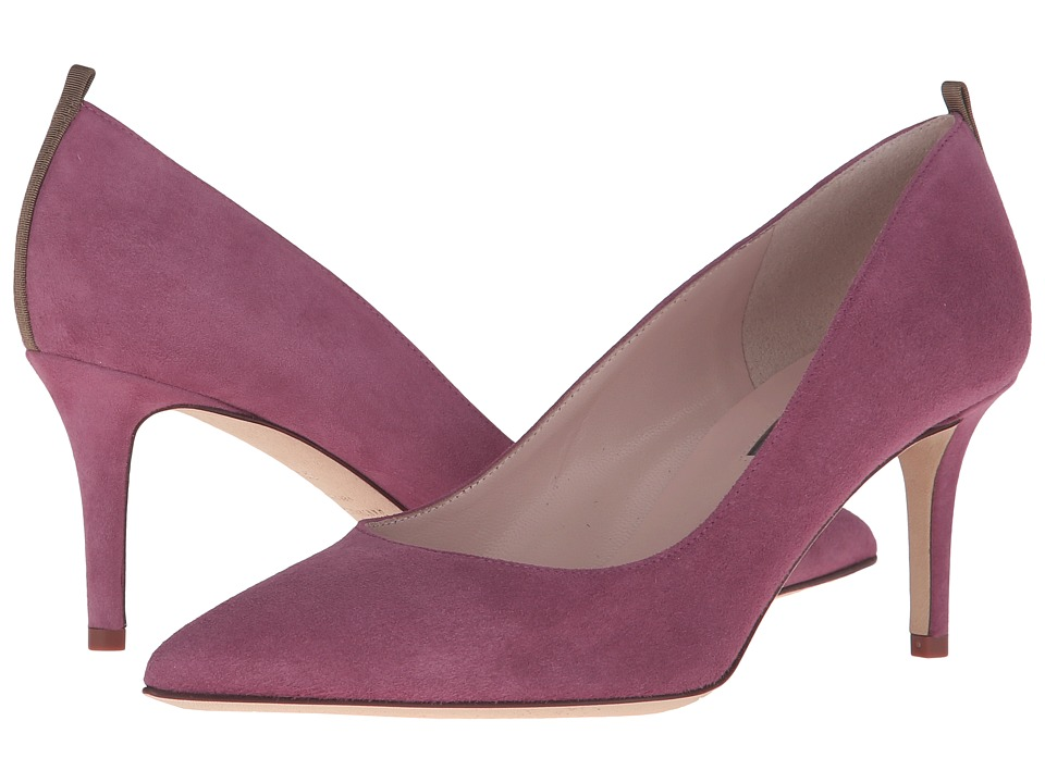 SJP by Sarah Jessica Parker - Fawn 70mm (Solo Purple Suede) Women's Slip-on Dress Shoes