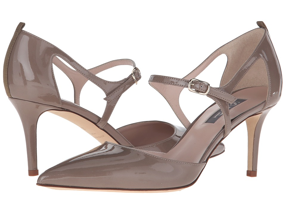 SJP by Sarah Jessica Parker - Phoebe (Rules Taupe Patent) Women's Shoes