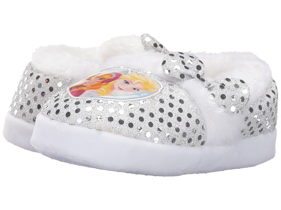 Favorite Characters - Disney Frozen Slipper FRF214 (Toddler/Little Kid) (Light Blue Sequin) Girls Shoes