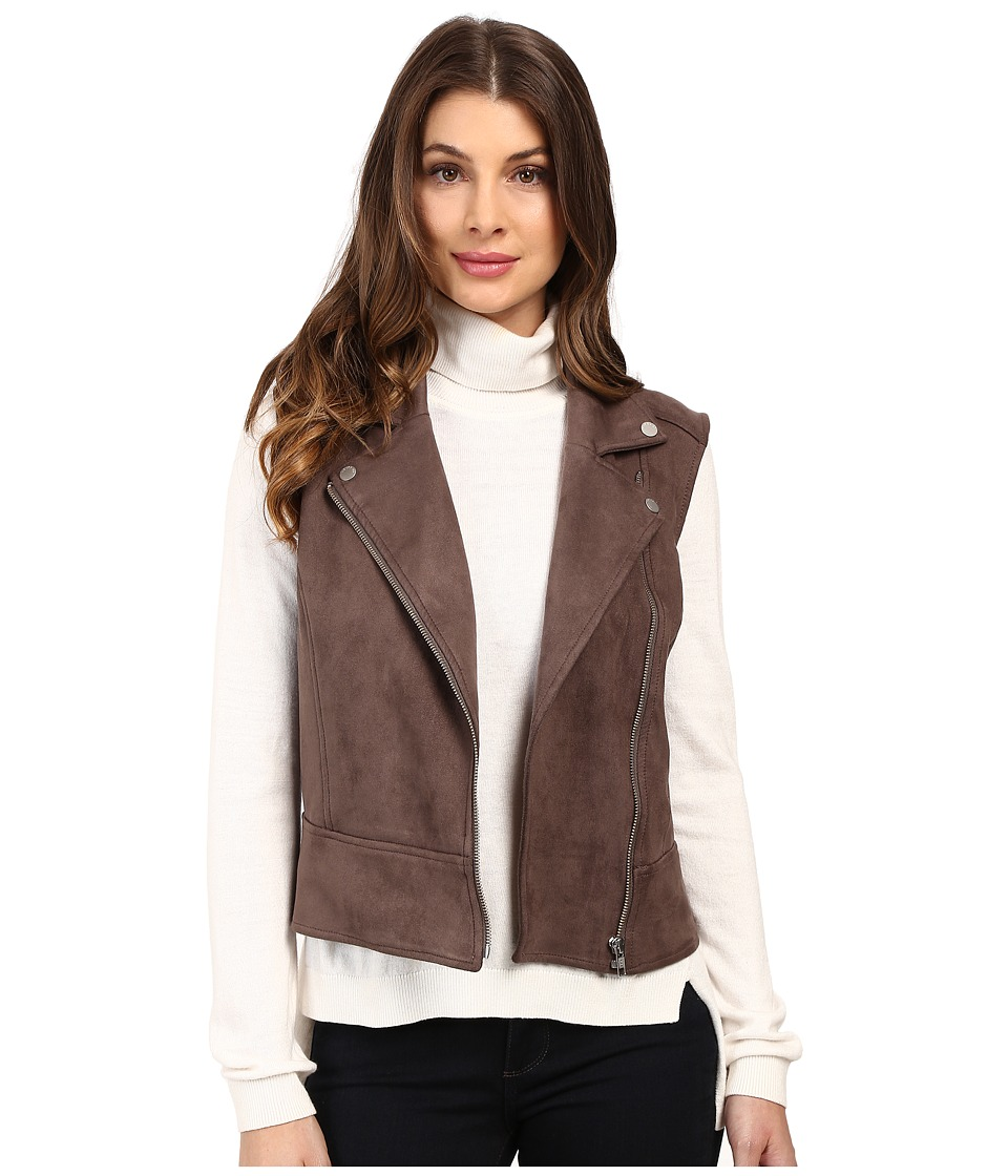 Level 99 - Faux Suede Alexa Vest (Musk) Women's Vest