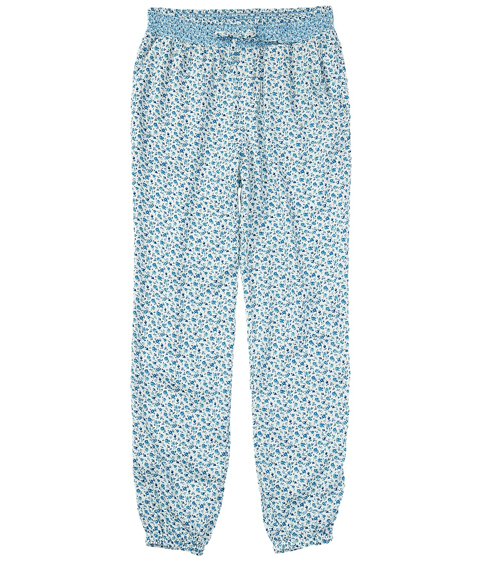 Polo Ralph Lauren Kids - Floral Pants (Little Kids/Big Kids) (Cream/Blue Multi) Girl's Casual Pants
