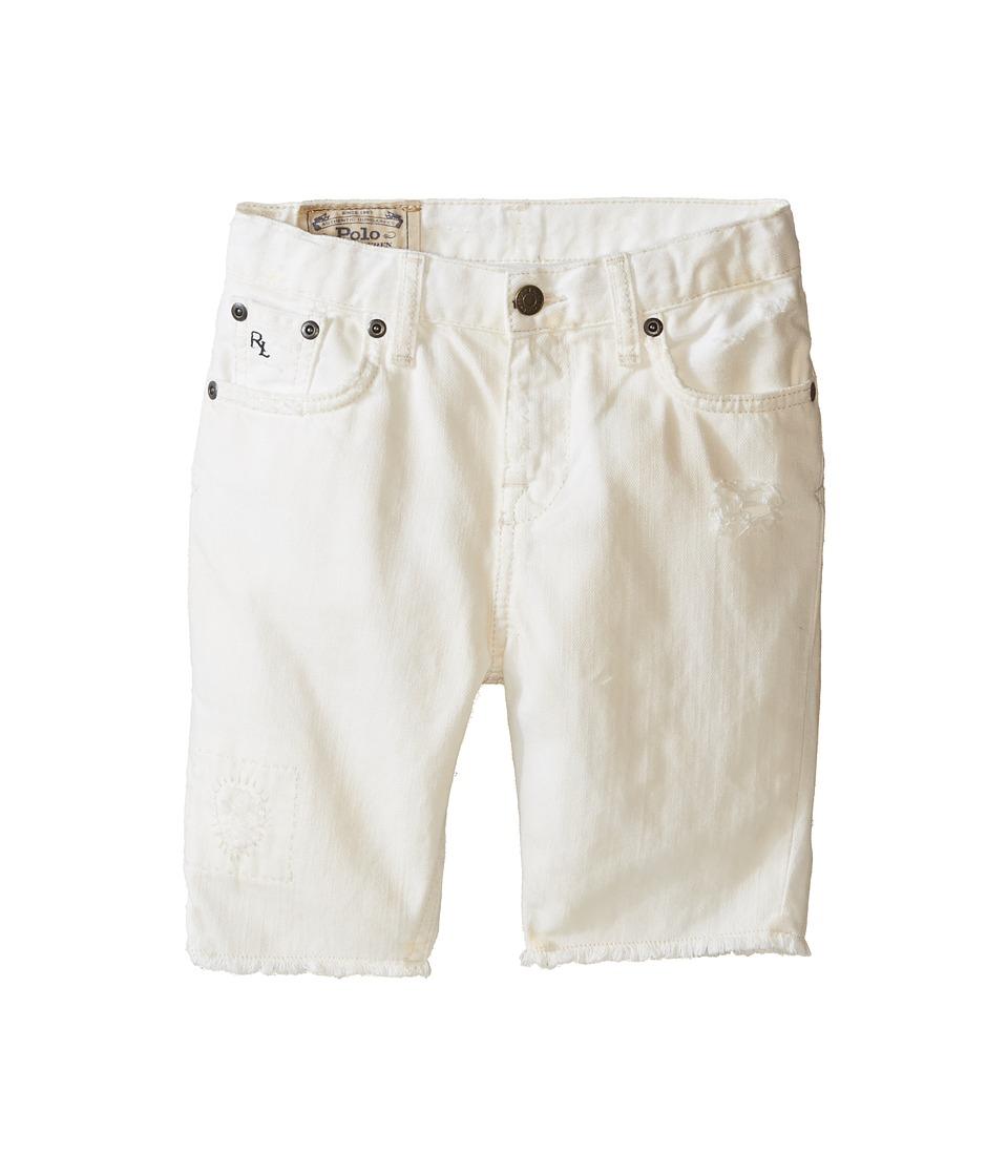 Polo Ralph Lauren Kids - Distressed Jeans (Little Kids) (Kamm Wash) Boy's Jeans