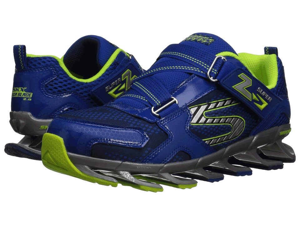 SKECHERS KIDS - Mega Blade 2.0 95570L (Little Kid/Big Kid) (Royal) Boy's Shoes