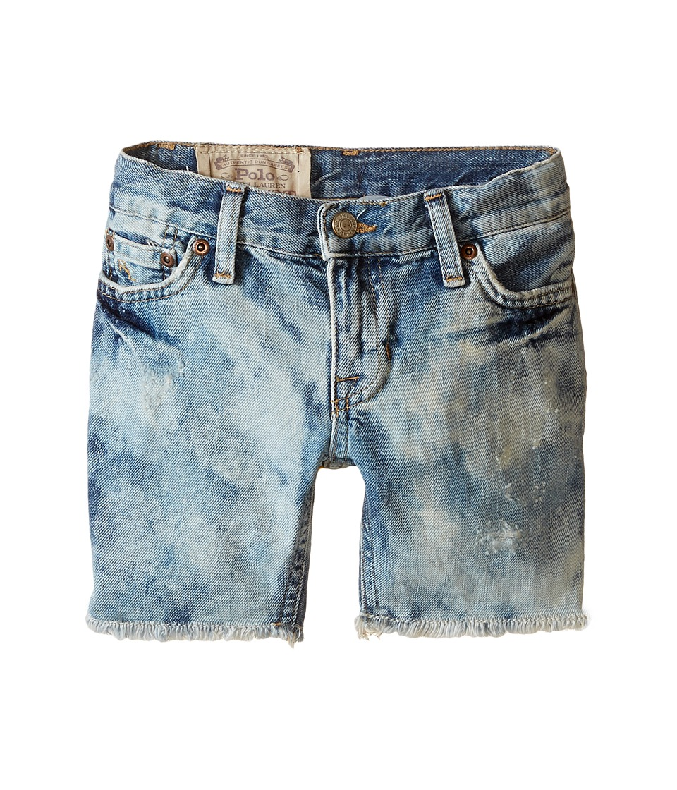 Polo Ralph Lauren Kids - Cut Off Shorts (Toddler) (Sol Wash) Boy's Shorts