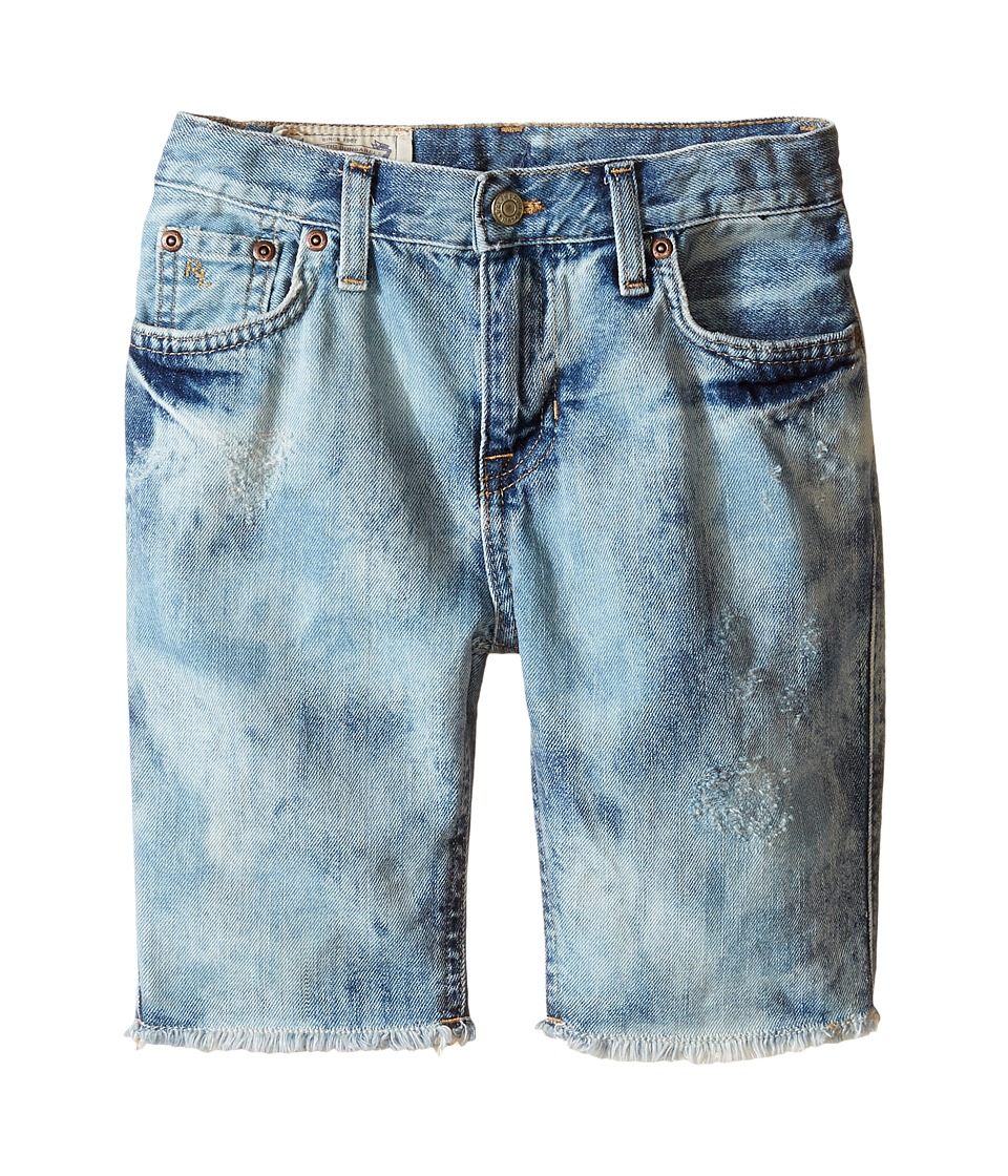 Polo Ralph Lauren Kids - Cut Off Shorts (Little Kids) (Sol Wash) Boy's Shorts