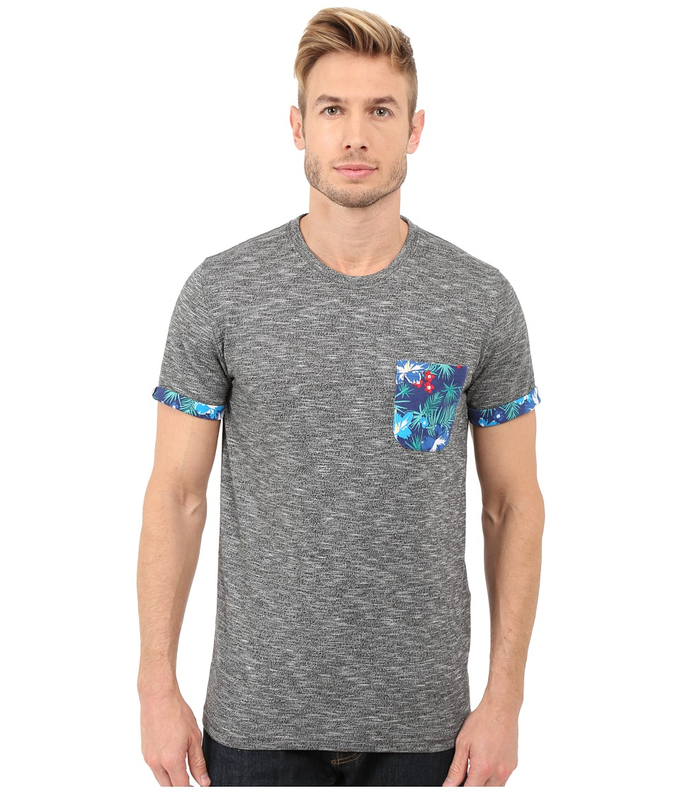 Superdry - Festival Pocket Aop Tee (Storm Grindle) Men's T Shirt