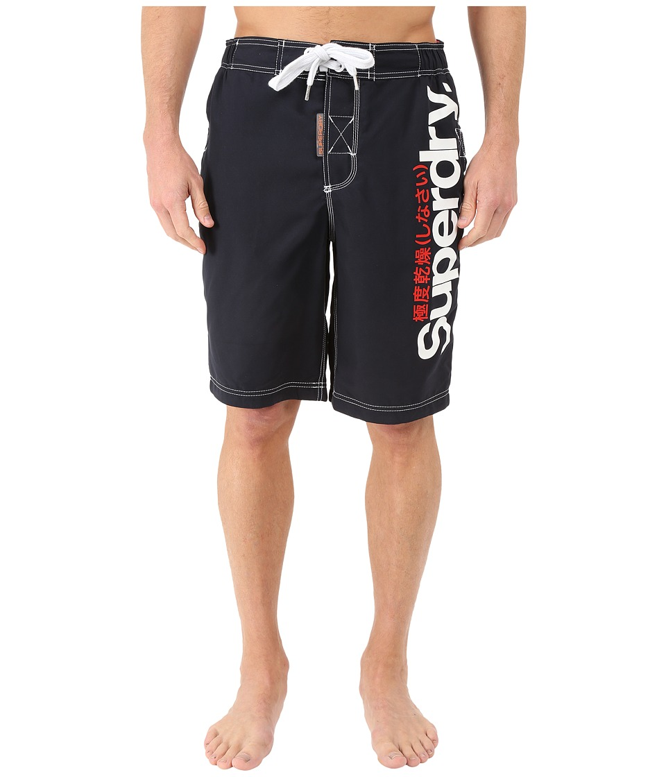 Superdry - Superdry Boardshorts (Darkest Navy) Men's Swimwear