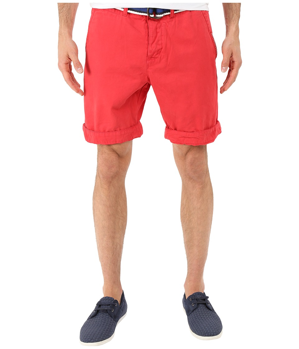Superdry - International Chino Shorts (Bright Red) Men's Shorts