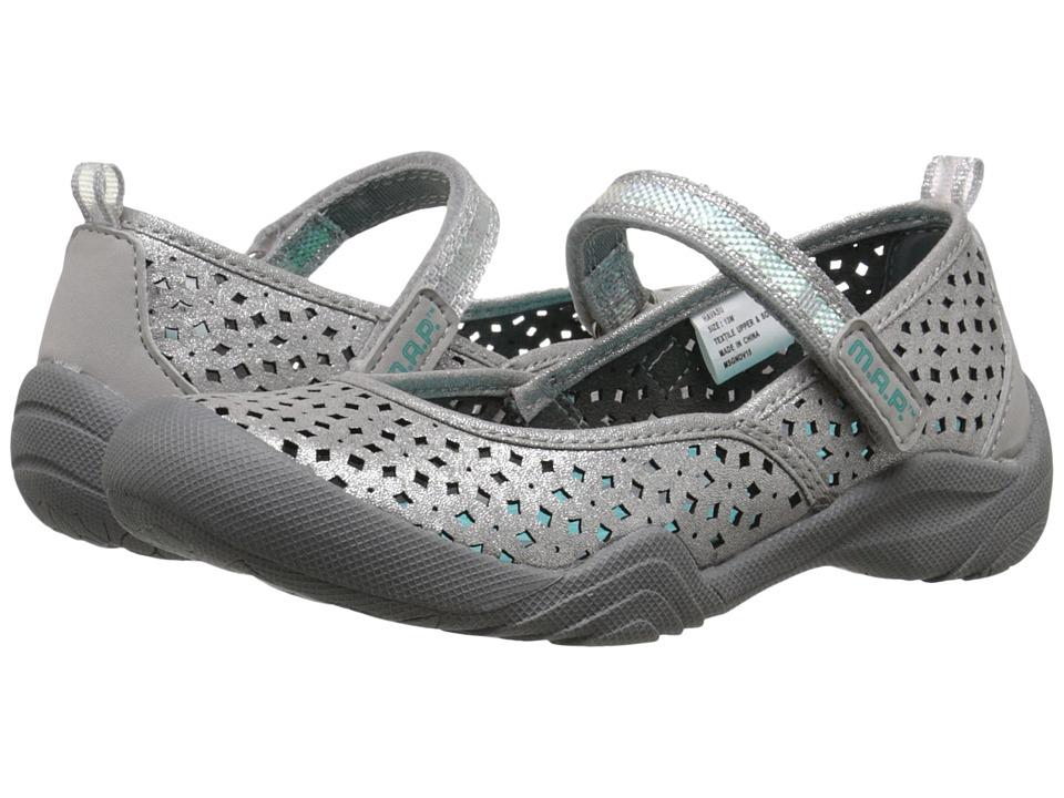 M.A.P. - Havasu (Little Kid/Big Kid) (Silver/Aqua) Girl's Shoes