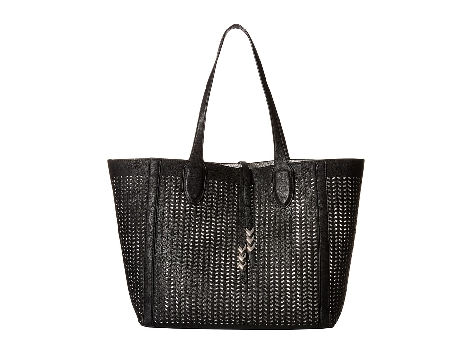 Madden Girl - Mgtulip Bag in Bag Tote (Black) Tote Handbags