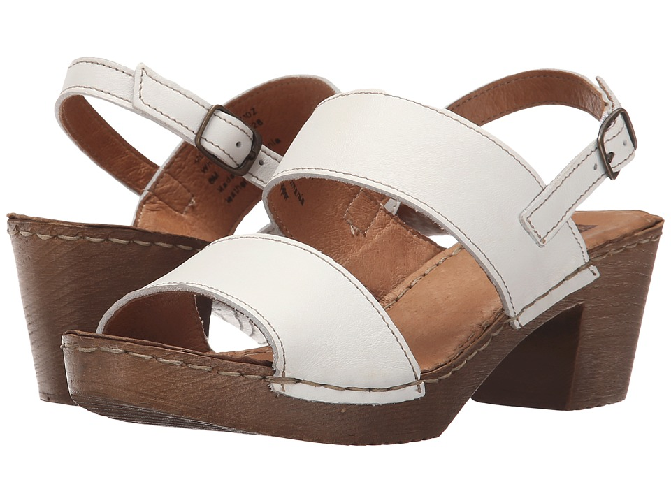 White Mountain - Motor (White Leather) Women's Shoes