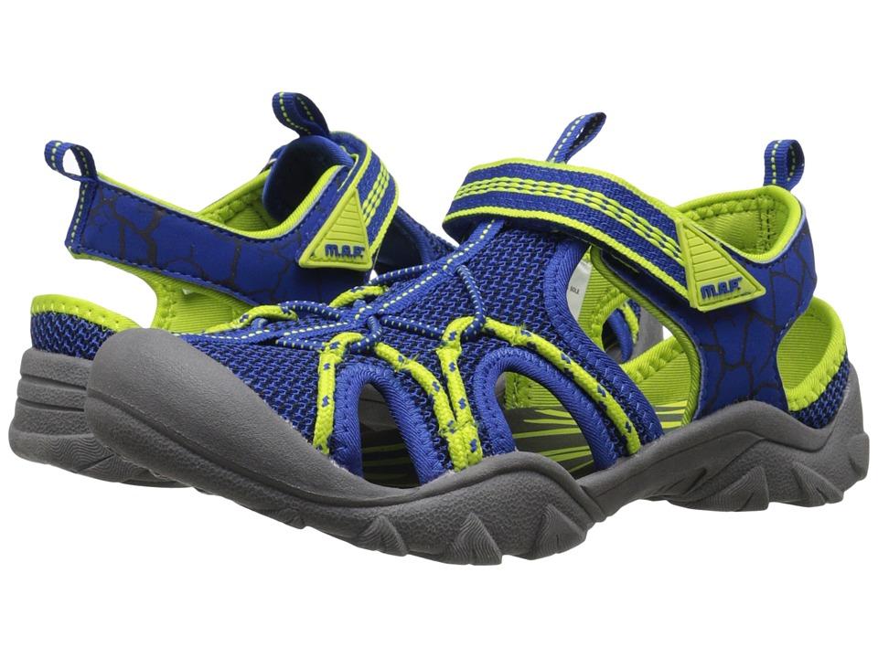 M.A.P. - Emmons (Little Kid/Big Kid) (Blue/Neon) Boy's Shoes