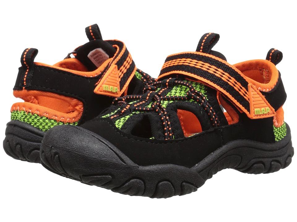 M.A.P. - Emmons (Toddler) (Black/Orange) Boy's Shoes