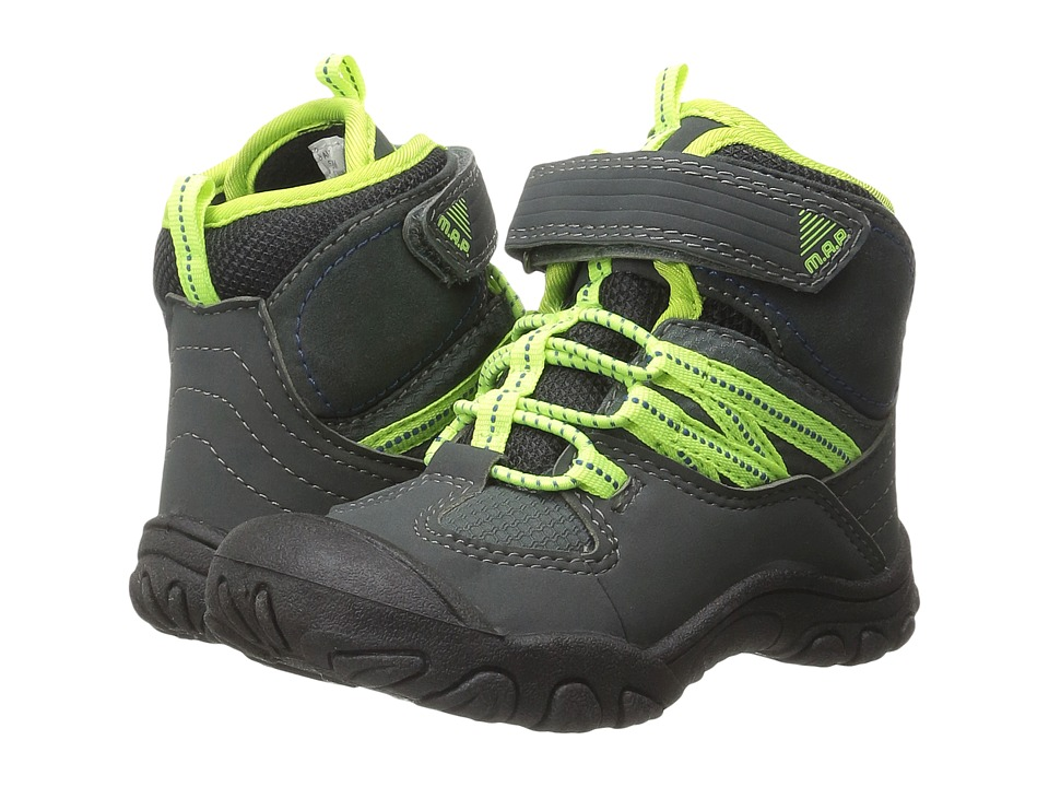 M.A.P. - Alps (Toddler) (Charcoal) Boy's Shoes