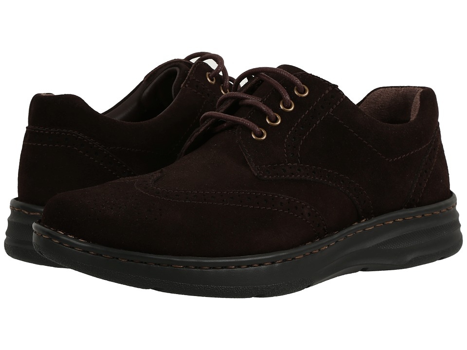 Drew - Delaware (Brown Suede) Men's Lace up casual Shoes