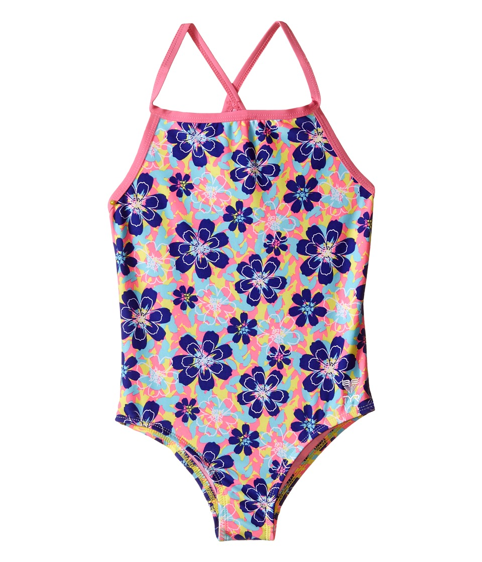 TYR - Poppy Diamondfit (Yellow) Women's Swimsuits One Piece