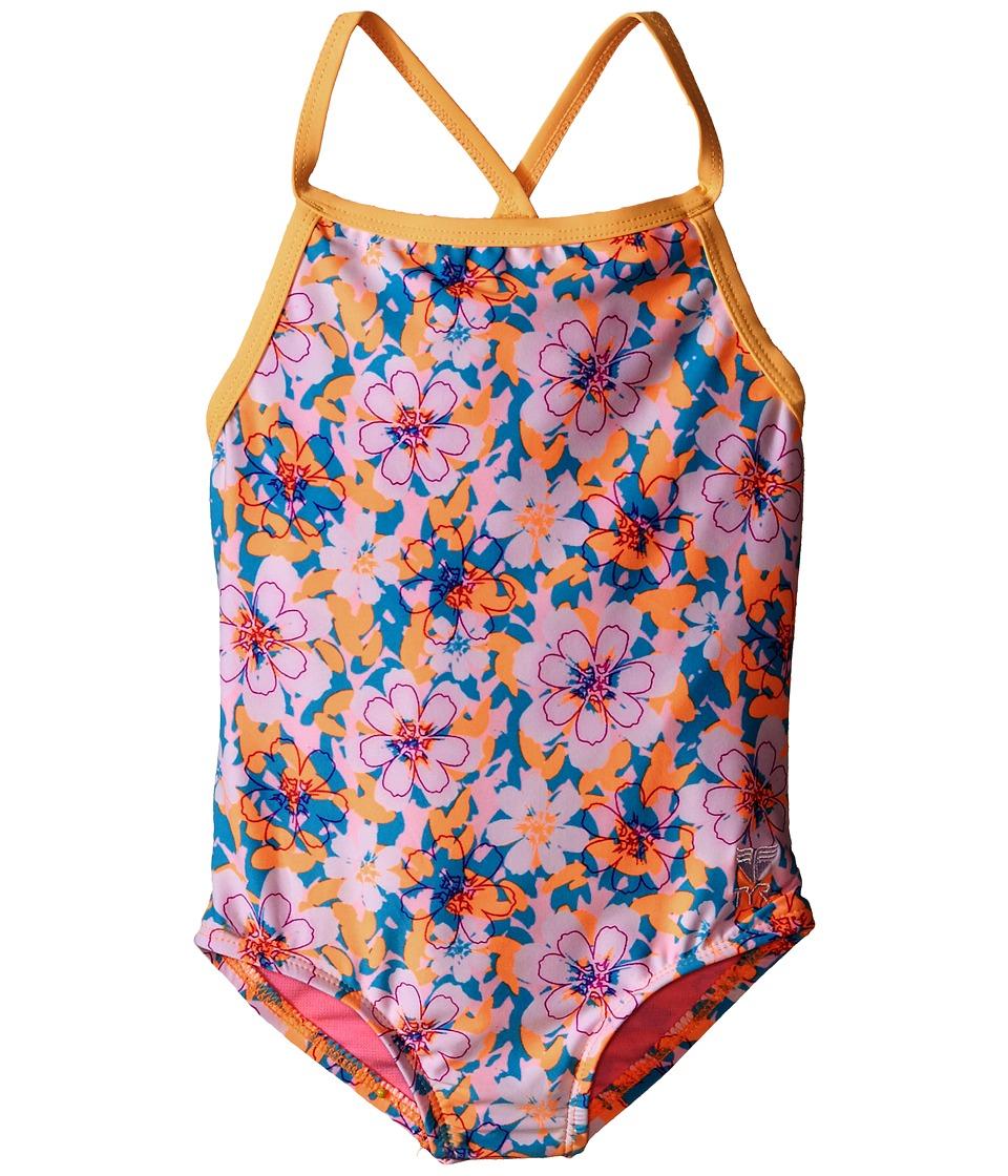 TYR - Poppy Diamondfit (Orange) Women's Swimsuits One Piece