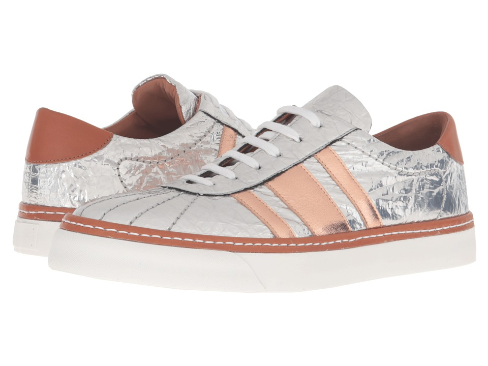 M Missoni - Silver Sneakers (Silver) Women's Shoes