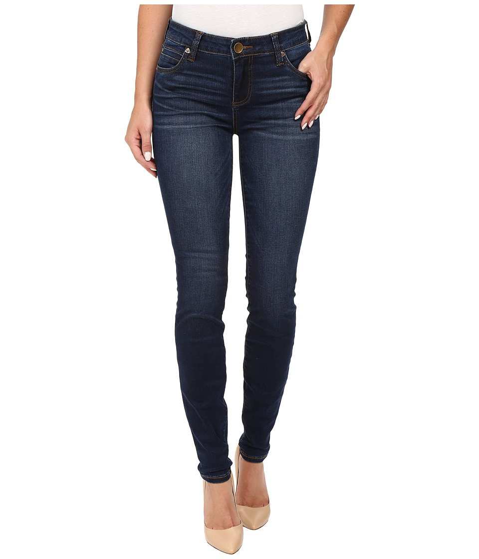 KUT from the Kloth - Mia Toothpick Five-Pocket Skinny Jeans in Awareness w/ Medium Base Wash (Awareness/Medium Base Wash) Women's Jeans