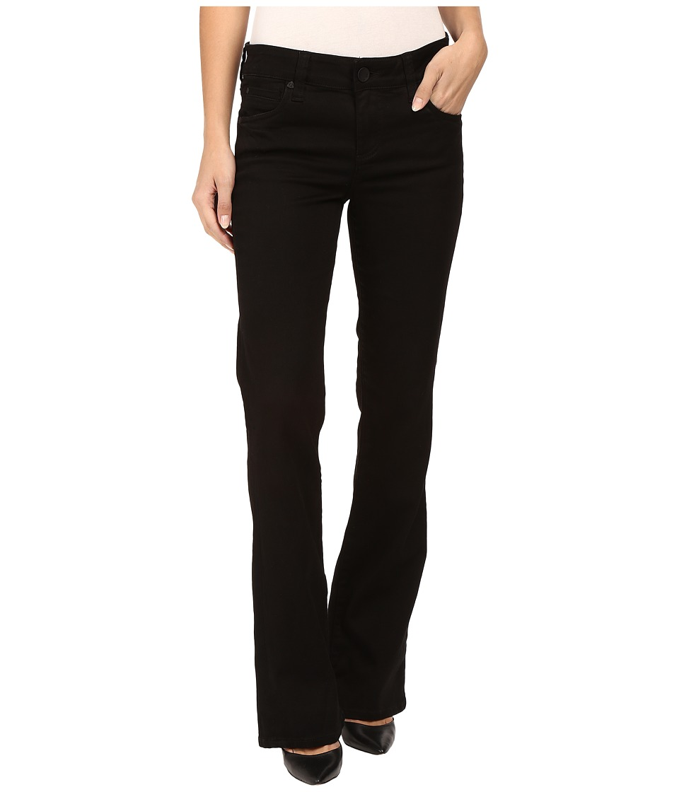 KUT from the Kloth - Natalie High Rise Bootcut Jeans in Black (Black) Women's Jeans