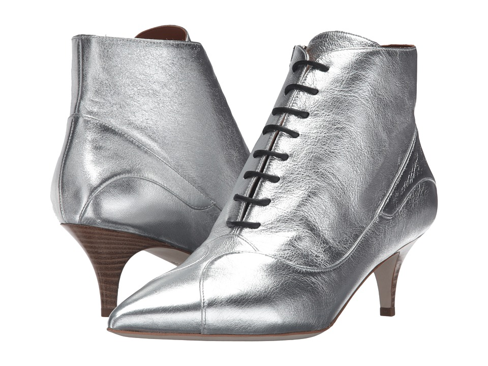 M Missoni Lace Booties (Silver) Women