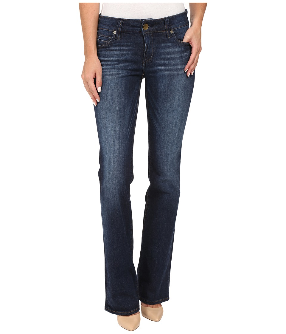 KUT from the Kloth - Natalie High Rise Bootcut Jeans in Adaptive w/ Dark Stone Base Wash (Adaptive/Dark Stone Base Wash) Women's Jeans