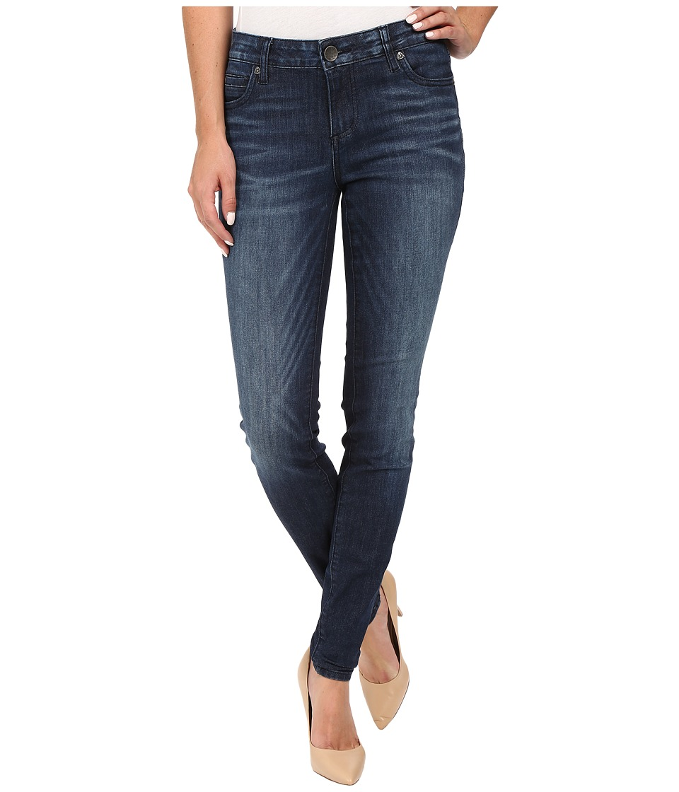 KUT from the Kloth - Mia Toothpick Five-Pocket Skinny Jeans in Appeal w/ Dark Stone Base Wash (Appeal/Dark Stone Base Wash) Women's Jeans
